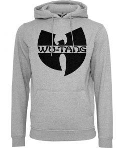 szurke wu-wear kapucnis pulover wu-tang logoval 2