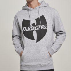 szurke wu-wear kapucnis pulover wu-tang logoval