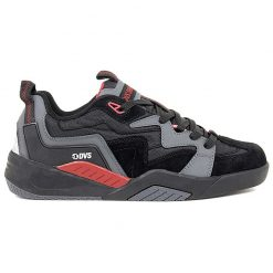 dvs devious cipo charcoal black red 01