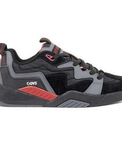 dvs devious cipo charcoal black red 01