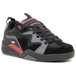 dvs devious cipo charcoal black red 02