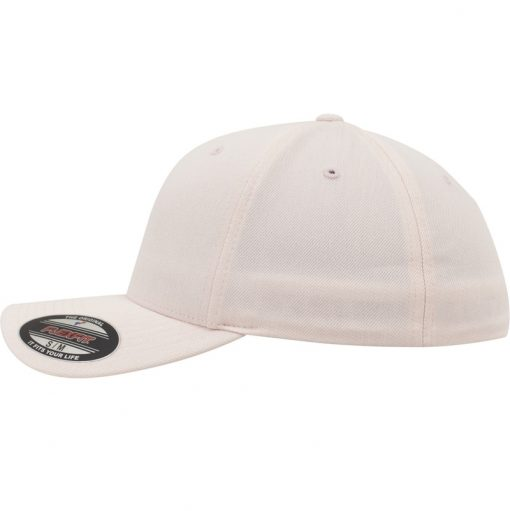flexfit fullcap sapka pastel melange whisper pink 02