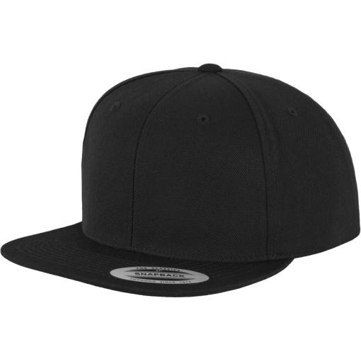 flexfit all black snapback sapka 01