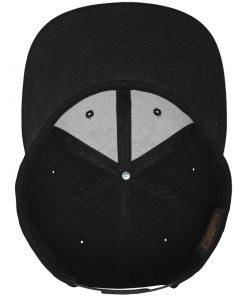 flexfit all black snapback sapka 03