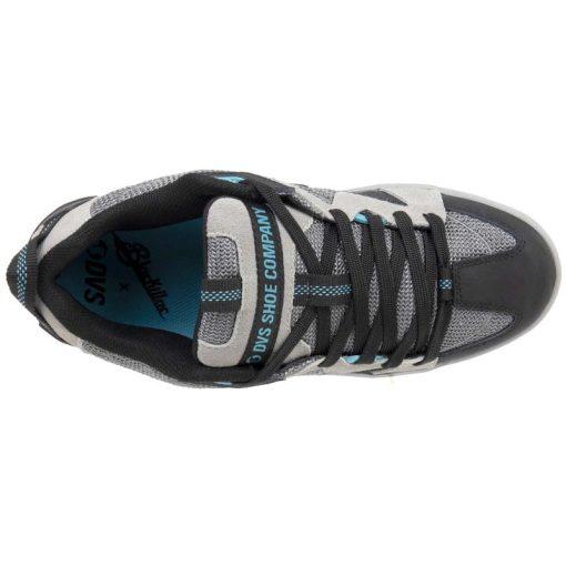 dvs devious cipo charcoal black turquoise 03