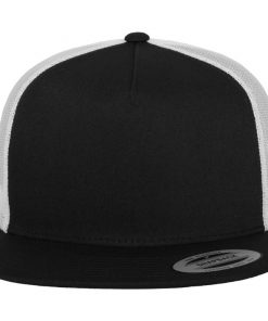 flexfit trucker sapka 2-tone black white 03