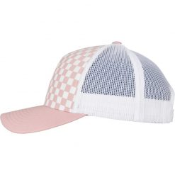 flexfit trucker sapka pink white 02