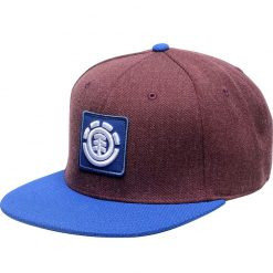element united burgundy heather snapback sapka