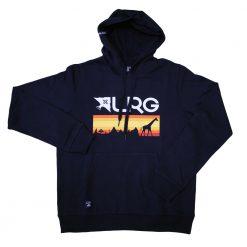 lrg astro navy kapucnis pulover 01