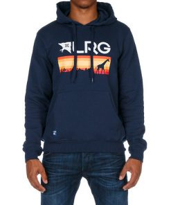 lrg astro navy kapucnis pulover 02