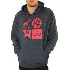 lrg logo mashup kapucnis pulover heather black 02
