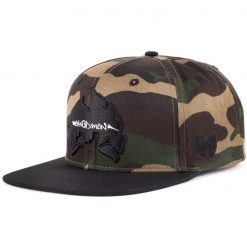wu wear method man camo snapback sapka 01