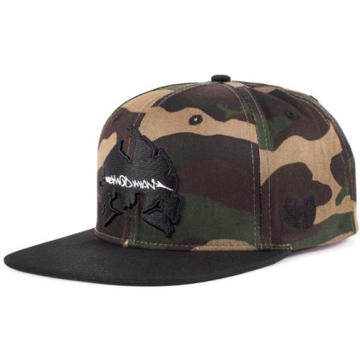 wu wear method man camo snapback sapka 01
