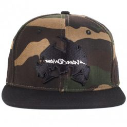 wu wear method man camo snapback sapka 02