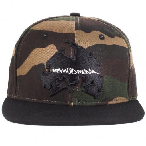wu wear method man camo snapback sapka 02