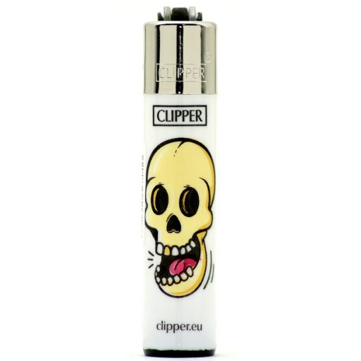 clipper micro white skulls gold tooth ongyujto 01