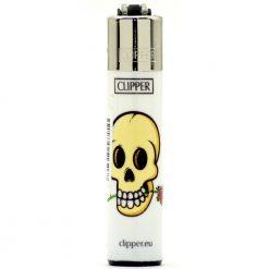 clipper micro white skulls rose ongyujto 01