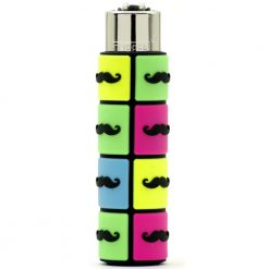 clipper pop cover moustache green blue 01