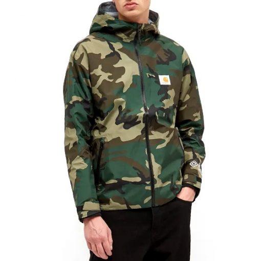 carhartt gore-tex point laurel camo jacket 02