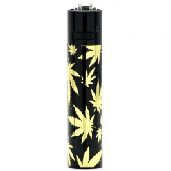 clipper metal golden leaves black ongyujto 01