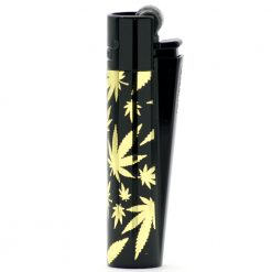 clipper metal golden leaves black ongyujto 02