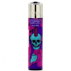 clipper psycho skulls purple/blue ongyujto 01
