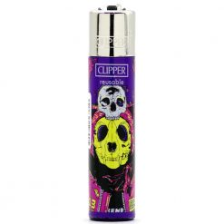 clipper psycho skulls purple/yellow ongyujto 01