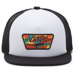 vans classic patch black/white gyerek trucker sapka 02