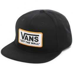 vans whitford black snapback sapka 01