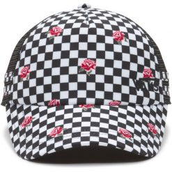 vans ol sport rose checkerboard trucker sapka 02