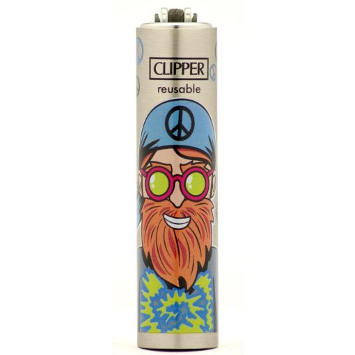 clipper metal cover hippies tie dye ongyujto 01