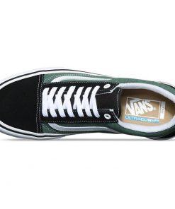 Vans Old Skool Pro gördeszkás cipő (blackduck green) Psychostore webáruház