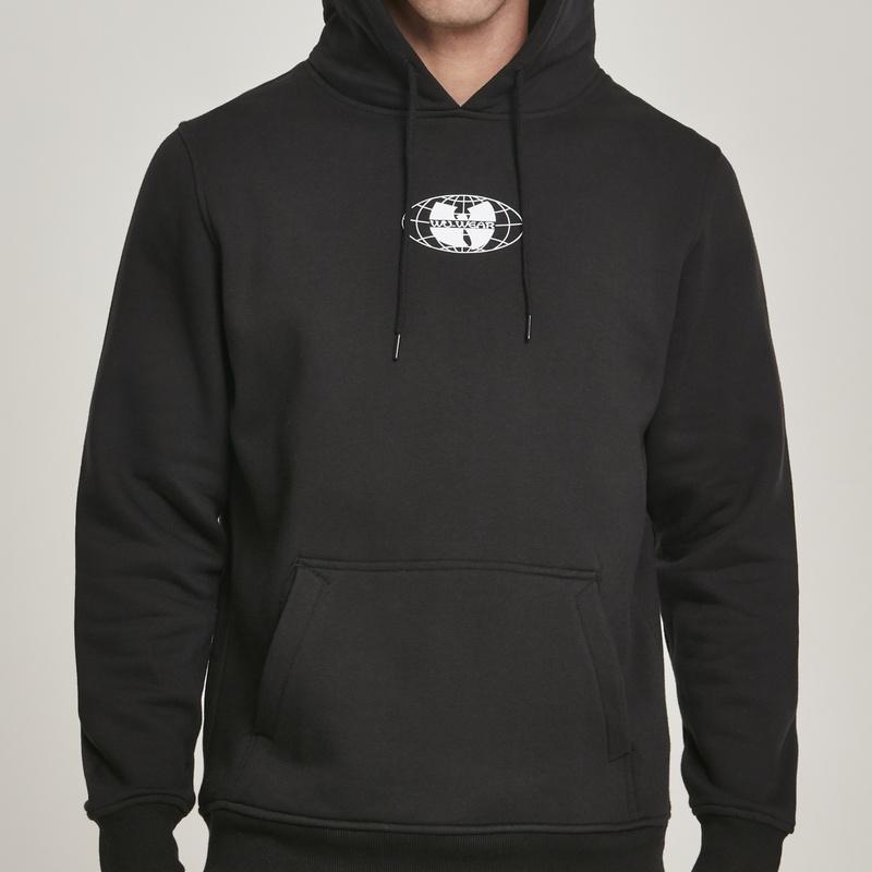 Wu Wear 36 Chambers kapucnis pulóver (black) Psychostore webáruház